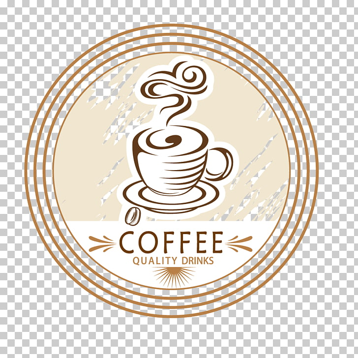 Coffee cup Cafe Breakfast, Retro coffee icon PNG clipart.