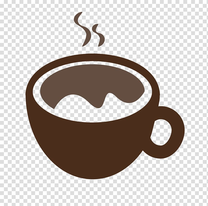 Coffee cup Teacup Icon, Menu icon transparent background PNG.