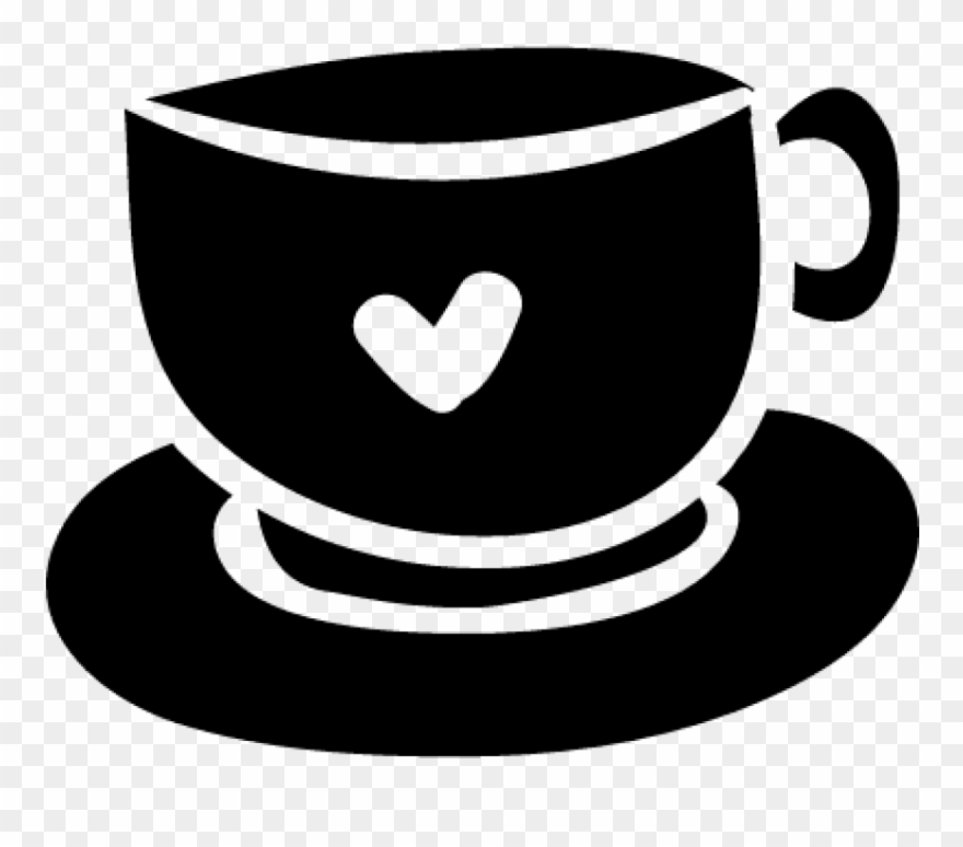 Free Png Download Coffee Cup With Heart Png Images.