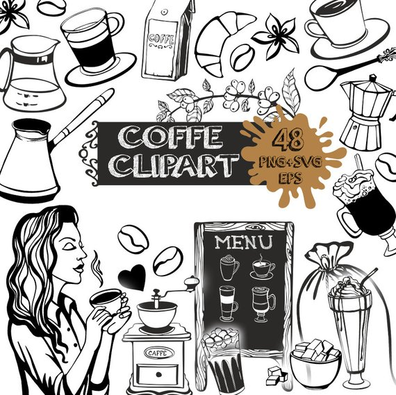Pin about Coffee illustration, Coffee clipart and Clip art.