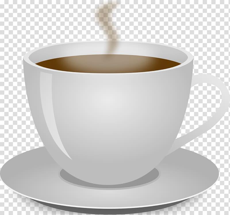 Cup of coffee illustration, Coffee cup Tea Kopi Luwak Cafe.