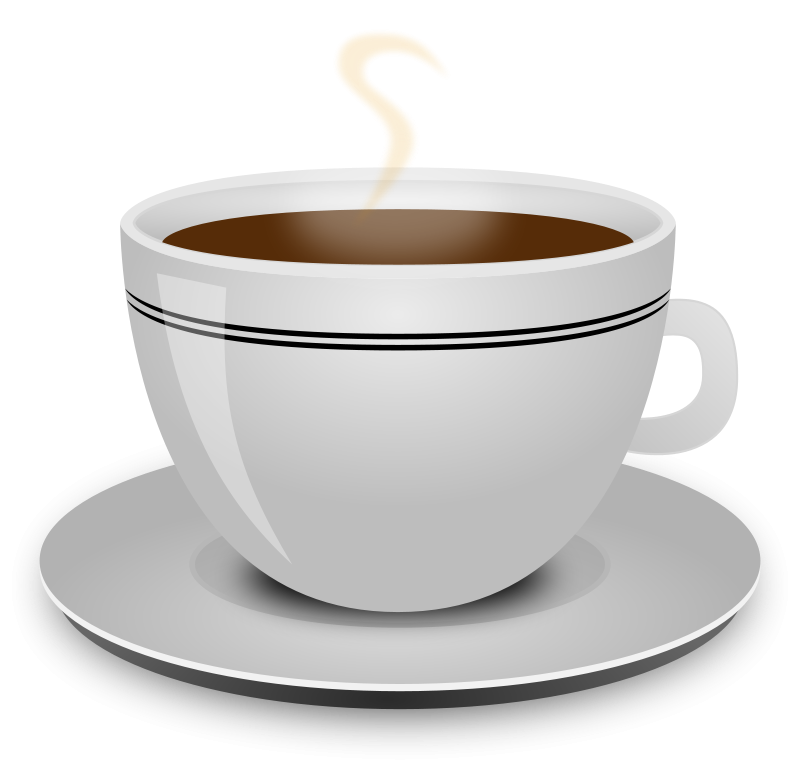 Free Clipart: Coffee cup.