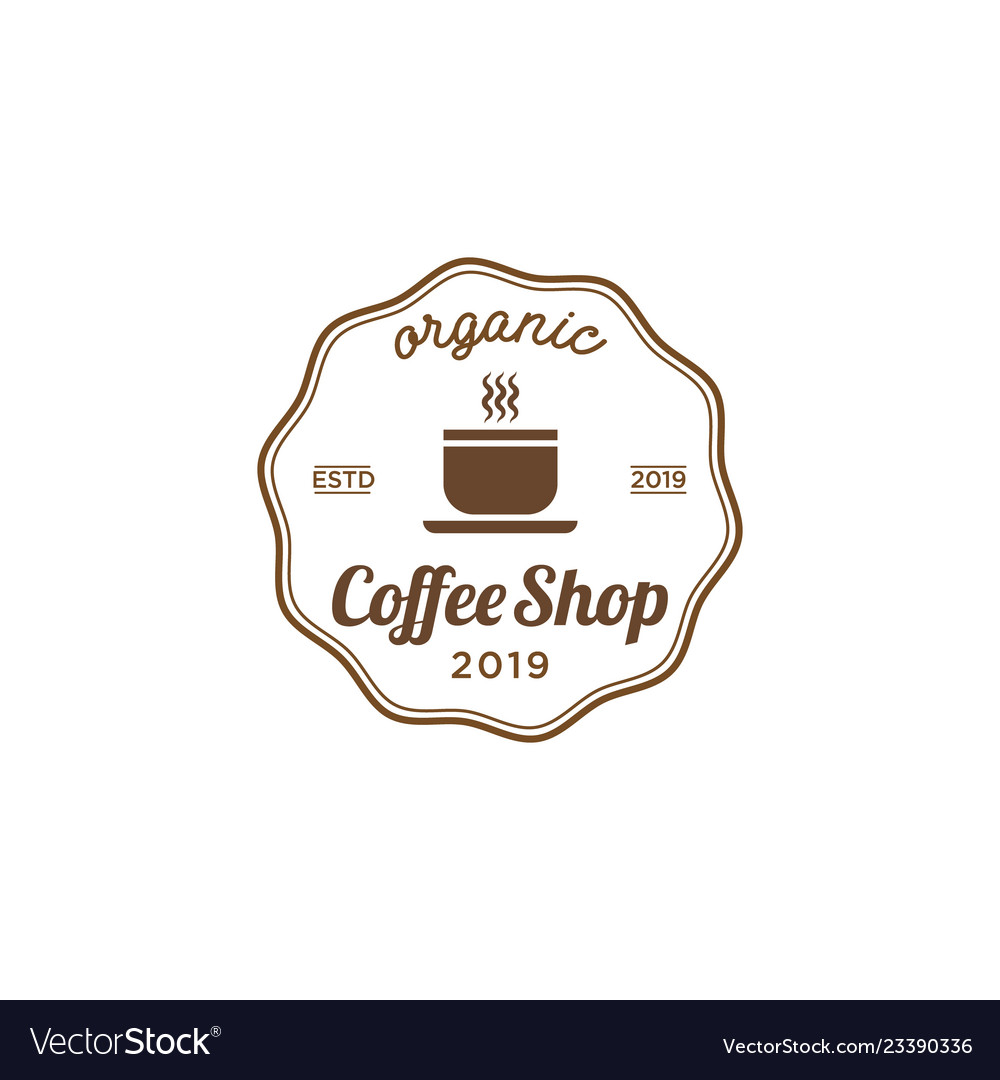 Coffee shop vintage logo design inspiration.