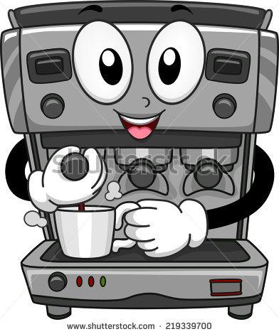 Clip Art Coffee Maker.