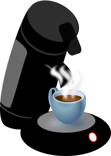 Coffee Machine Clipart.