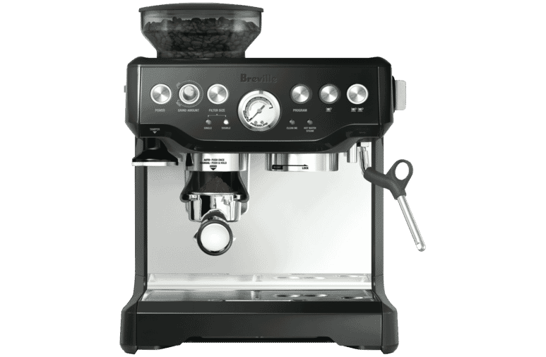 Breville BES870BKS the Barista Express Coffee Machine.