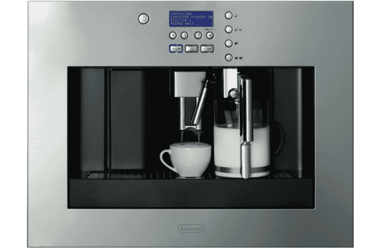 DeLonghi EABI6600 60cm Built in Coffee Machine at The Good Guys.