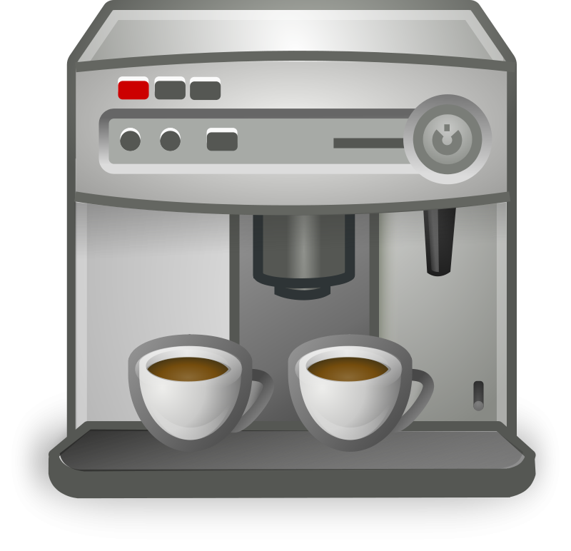 Free Clipart: Coffee Maker.