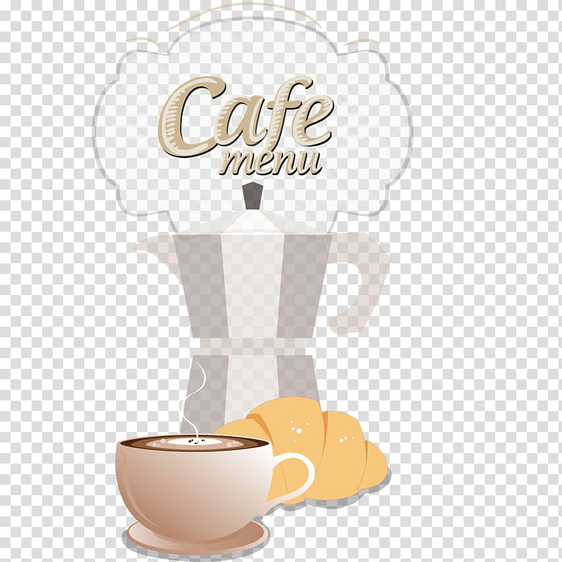 Coffee cup Caffeine Cafe, Coffee menu transparent background.