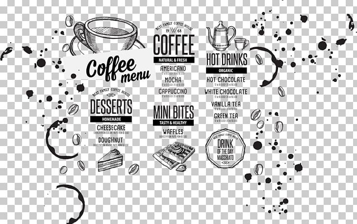 Coffee Hamburger Tea Cafe Menu PNG, Clipart, Brand, Cafe.
