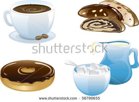 Coffee Milk Stock Photos, Royalty.