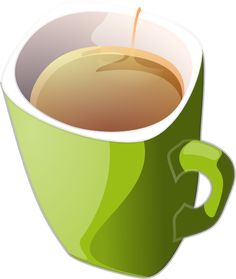 Cup of milk clipart.