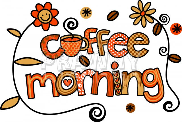 Free clipart coffee morning.