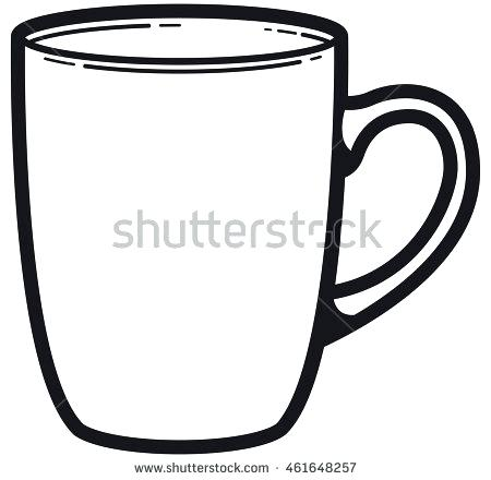 Coffee Mug Clipart Black And White (97+ images in Collection) Page 1.