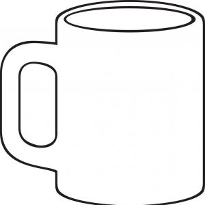 Coffee Mug Drawing.