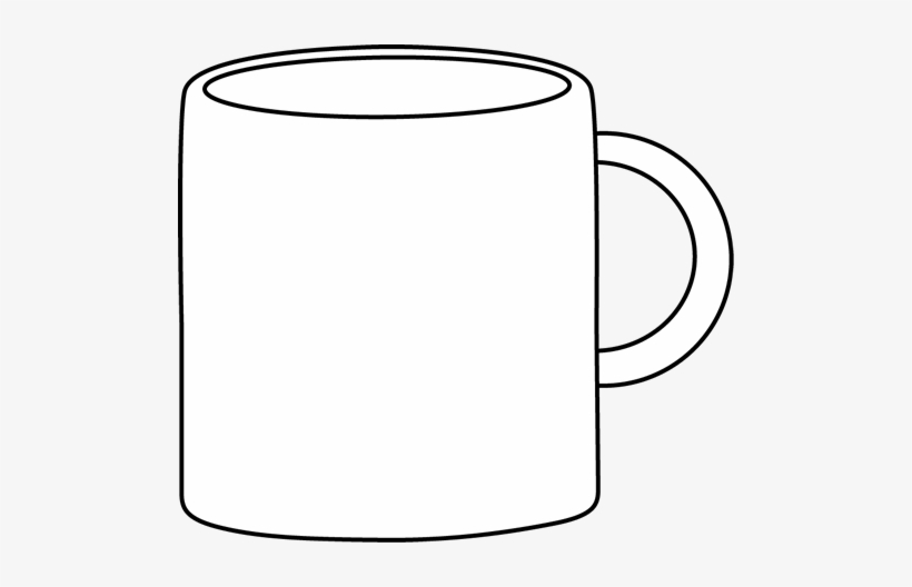 Coffee Cup Black And White Mug Clip Art Black And White.