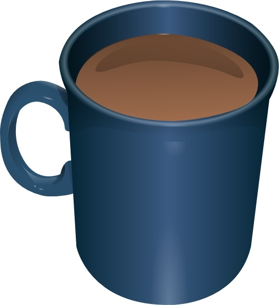Coffee Mug clip art Free vector in Open office drawing svg ( .svg.