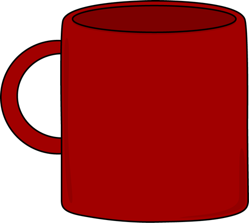 Coffee mugs clip art.