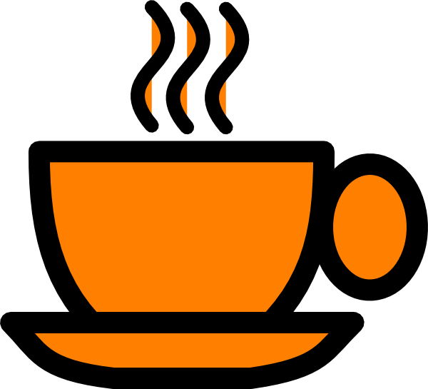 Orange Coffee Mug Clip Art at Clker.com.
