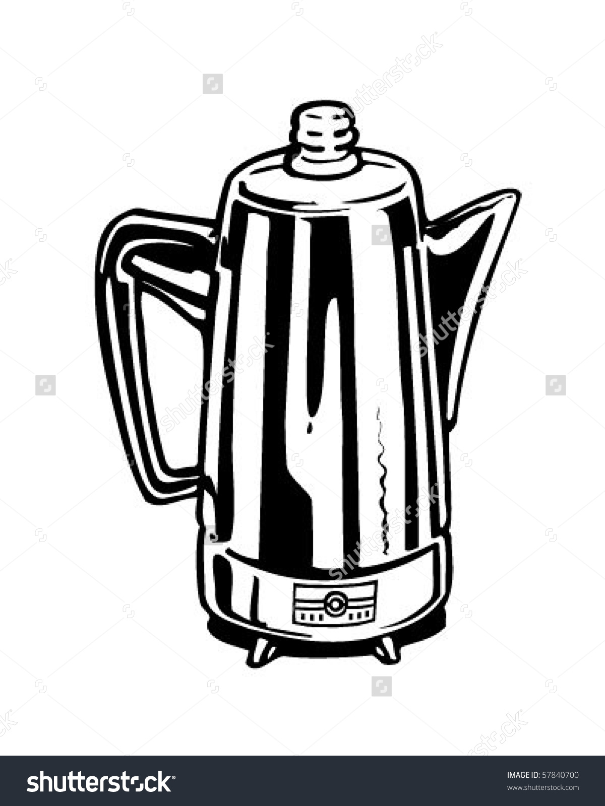 Coffee Percolator Clipart Clipground