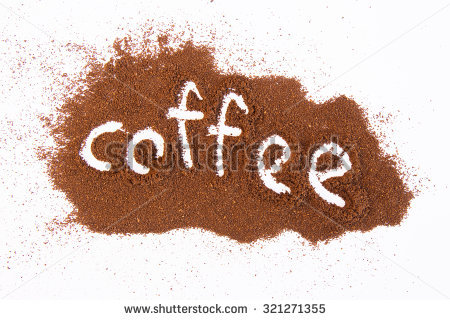 Coffee Powder Stock Photos, Royalty.