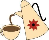 Hot Coffee Clip Art and Menu Graphics.