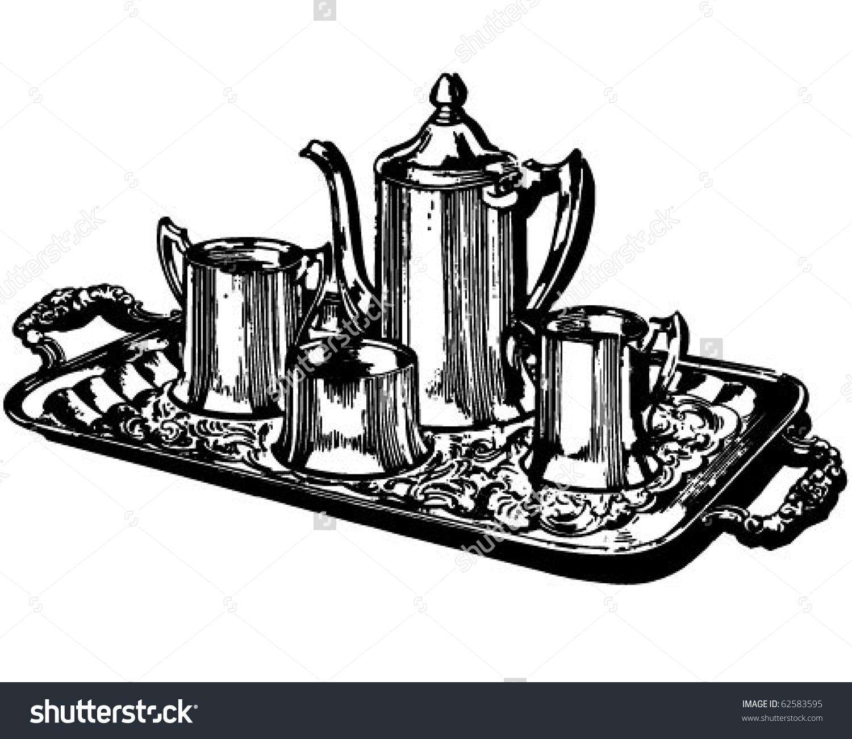 Silver Coffee Service.