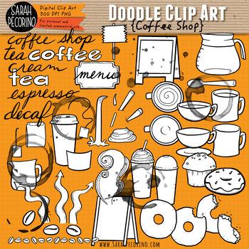 Coffee Shop Clip Art Collection.