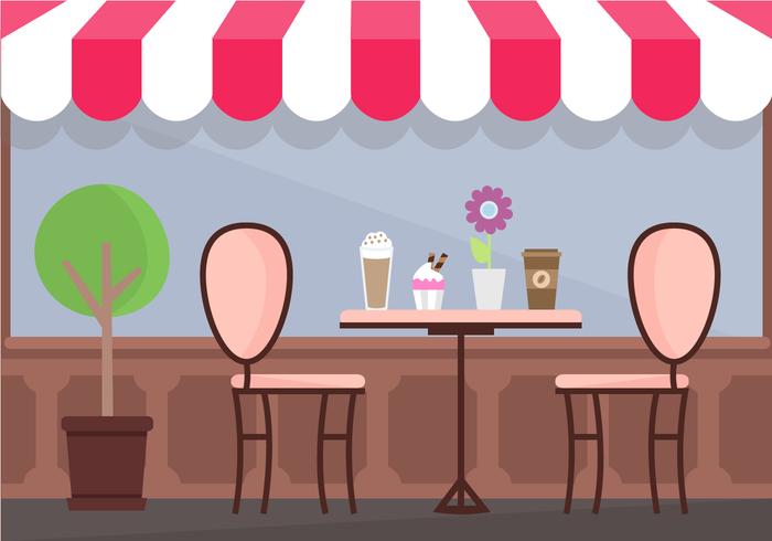 Coffee Shop Vector.