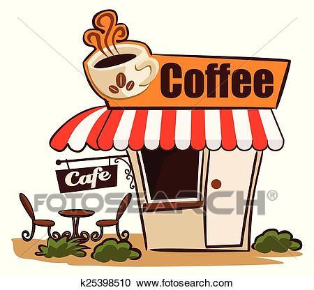 Coffee Shop Clipart.