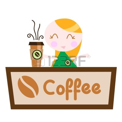 Coffee shop clipart #18