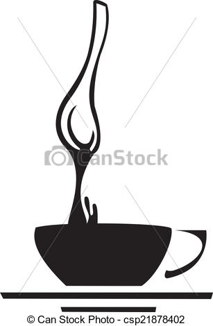 Vector Clipart of Coffee Spoon.