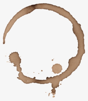 Coffee Stain PNG Images.