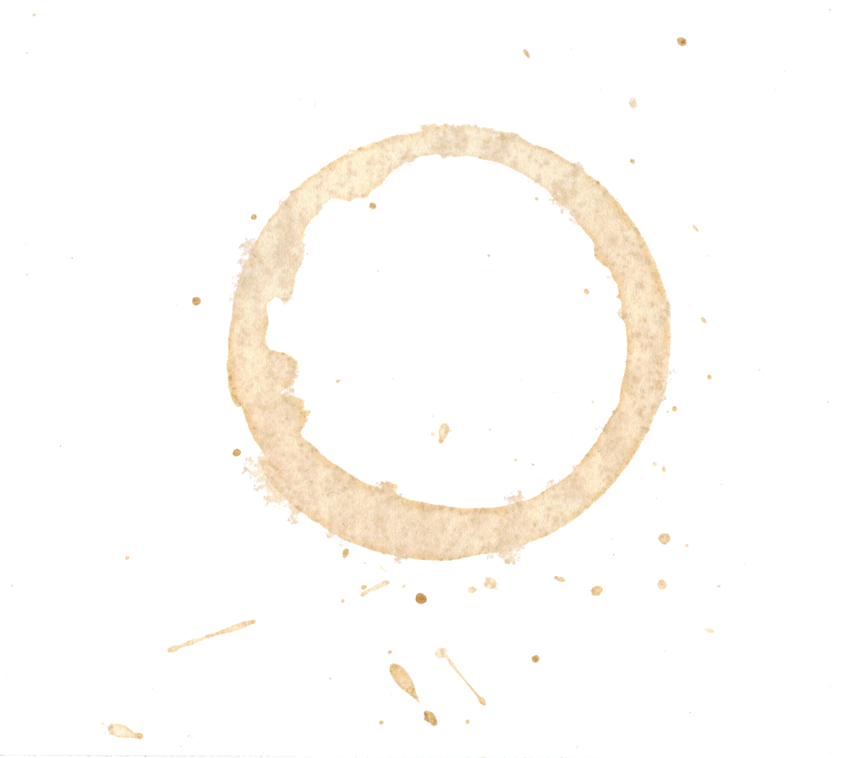 8 Coffee Stain PNG Image Transparent.