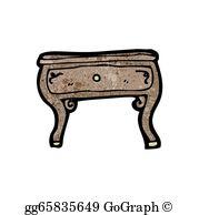Coffee Table Clip Art.