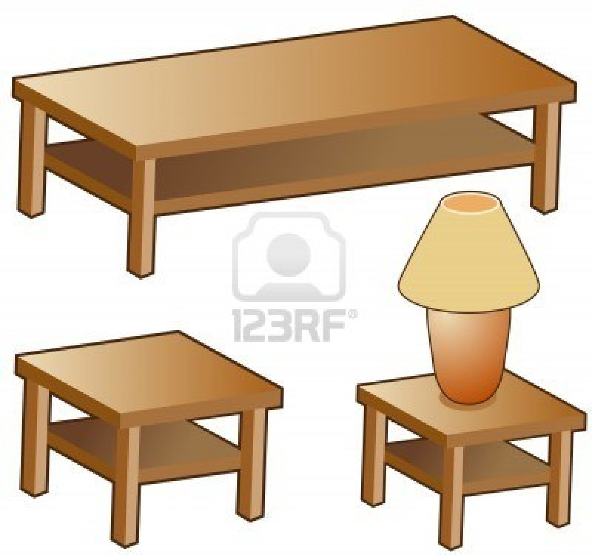 Clip Art Coffee Table Clipart.