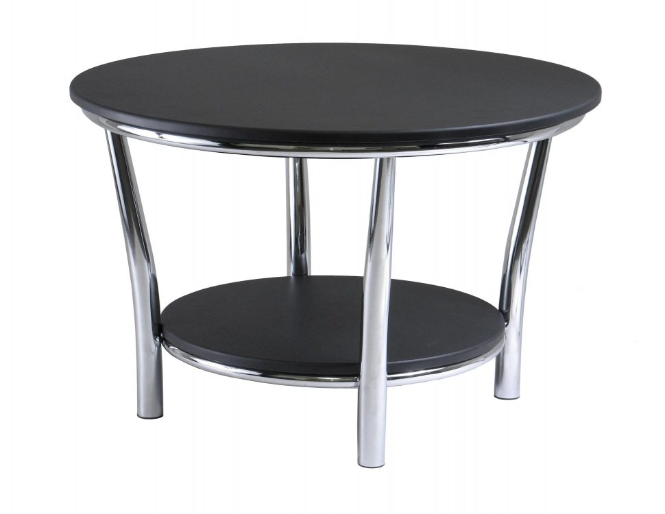 coffee table clipart black and white #10