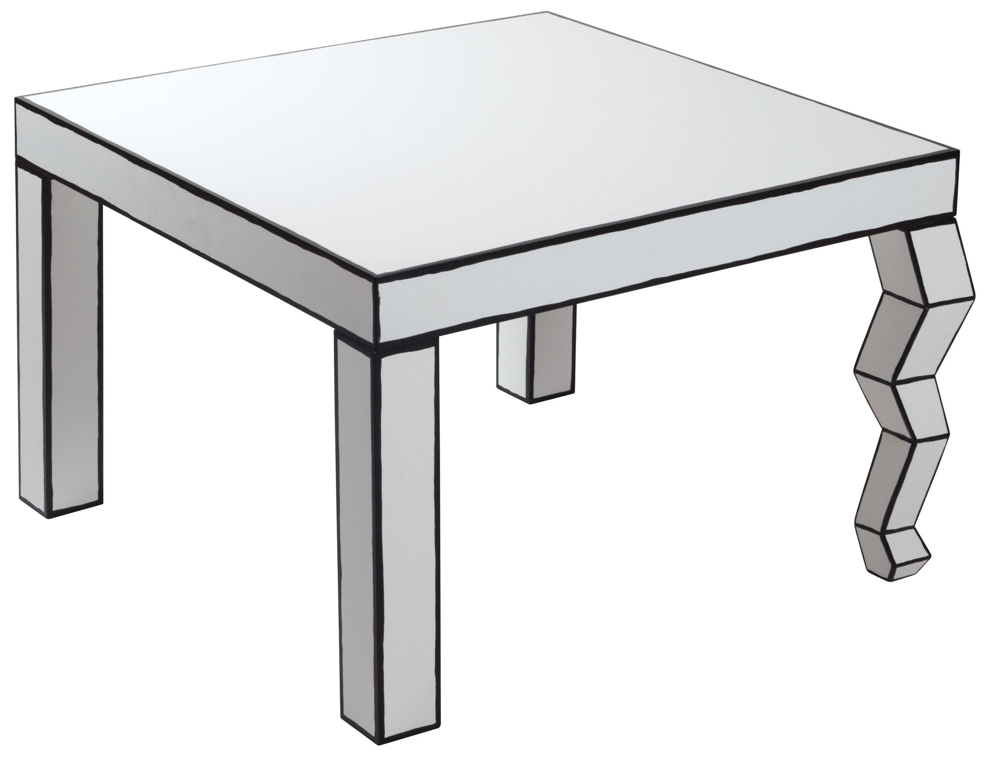 Table Cartoon Black And White.