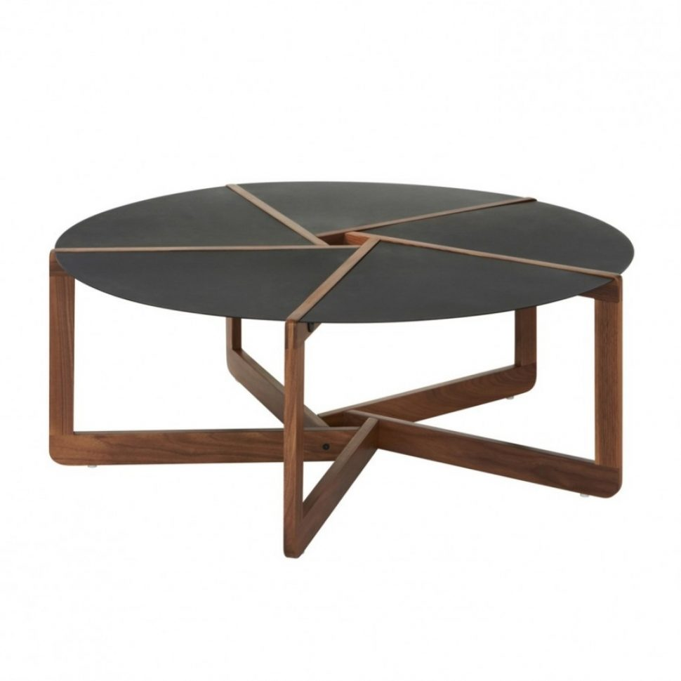 Furniture Office Iron Small Round Coffee Table
