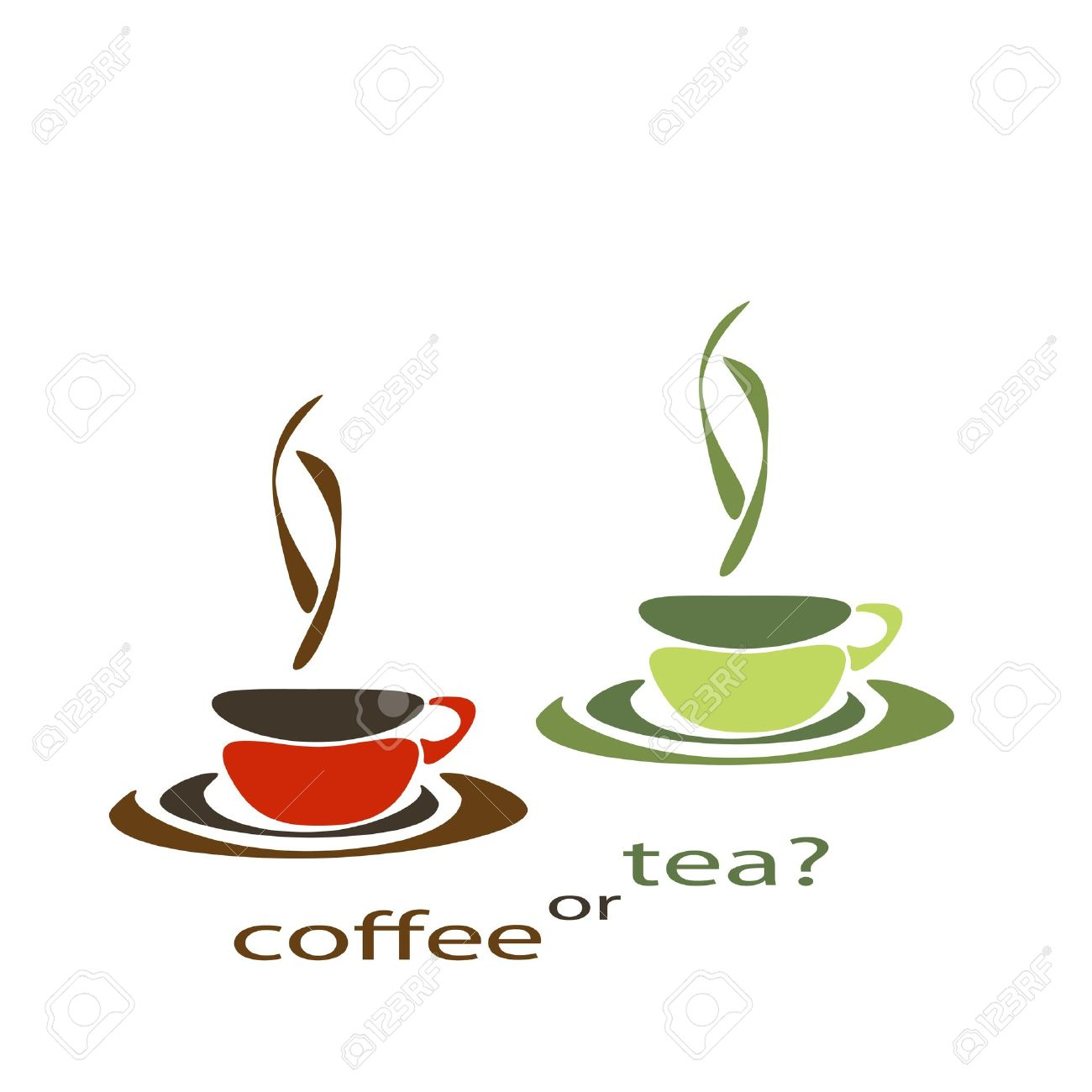 Coffee tea soda clipart.