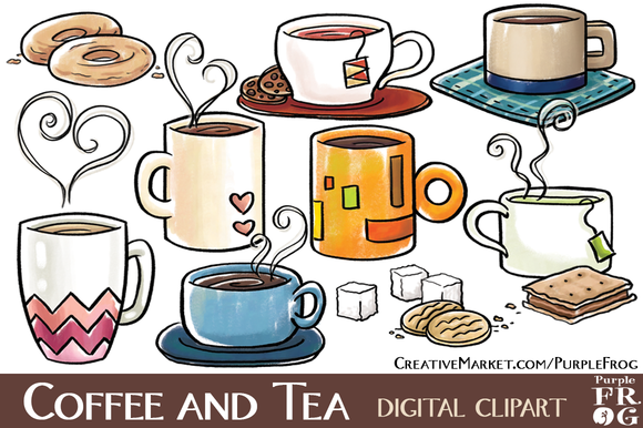 Coffee And Tea Clipart.