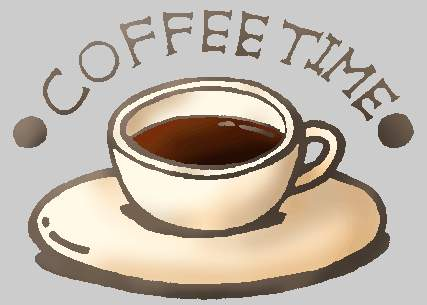 Coffee Time Clipart.