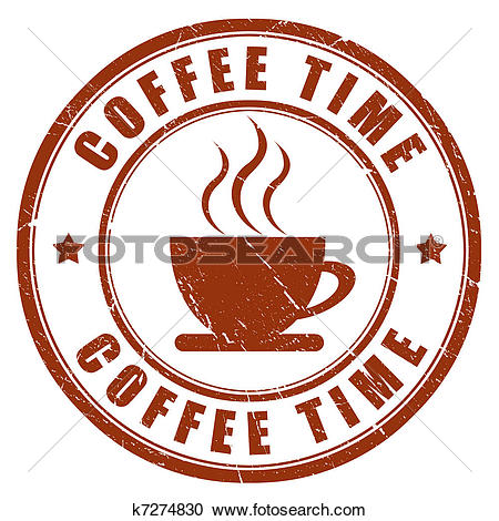 Stock Illustrations of Coffee time k7274830.