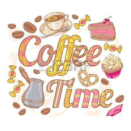13,819 Coffee Time Stock Illustrations, Cliparts And Royalty Free.