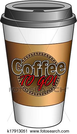 Coffee To Go Cup Clipart.