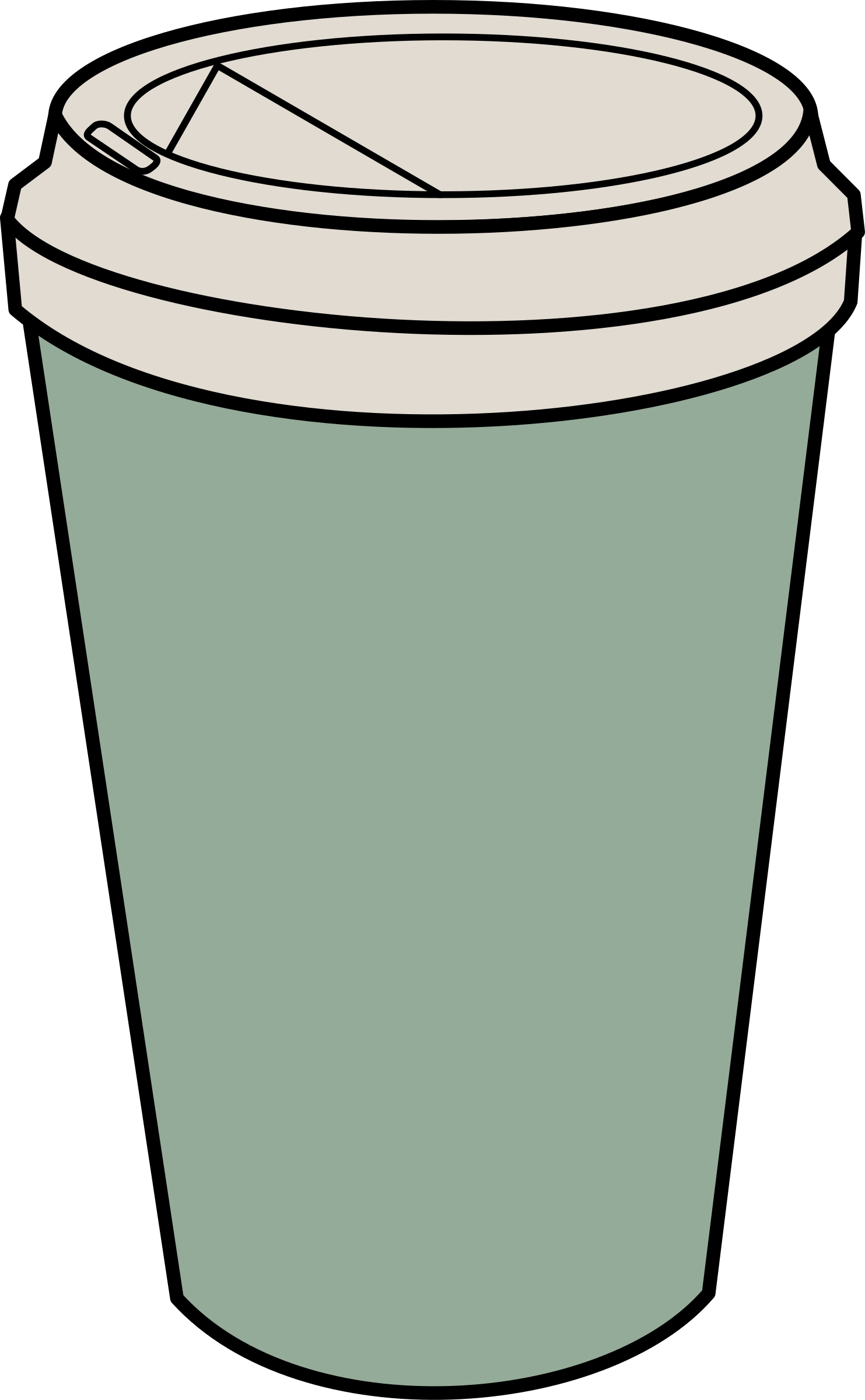 Coffee To Go Clipart & Free Clip Art Images #28130.