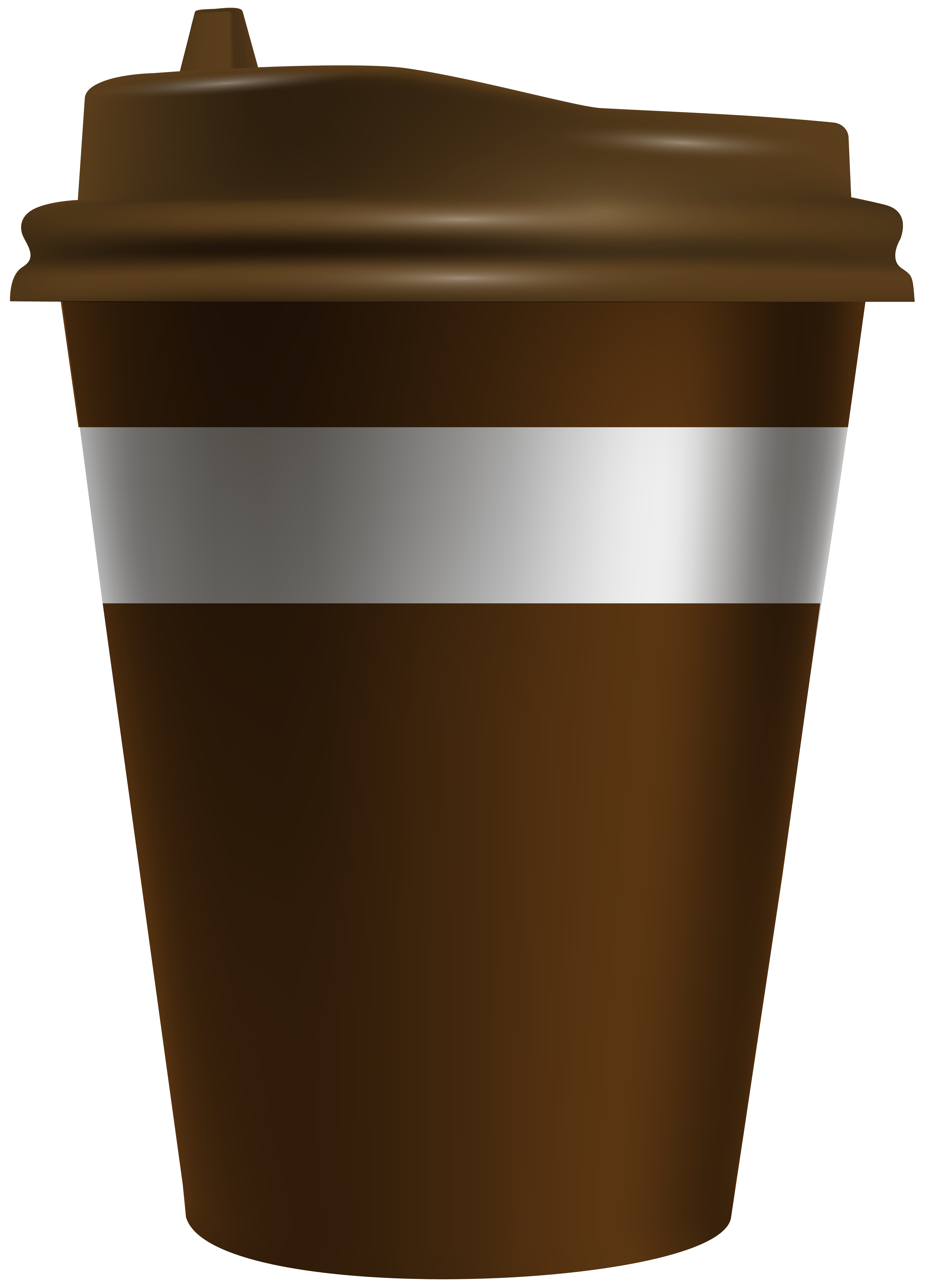 Coffee Cup To Go PNG Clip Art Image.