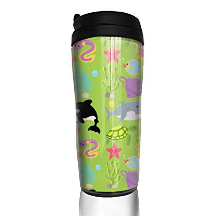Amazon.com: Sea Creature Animal Clipart Modern Insulated.