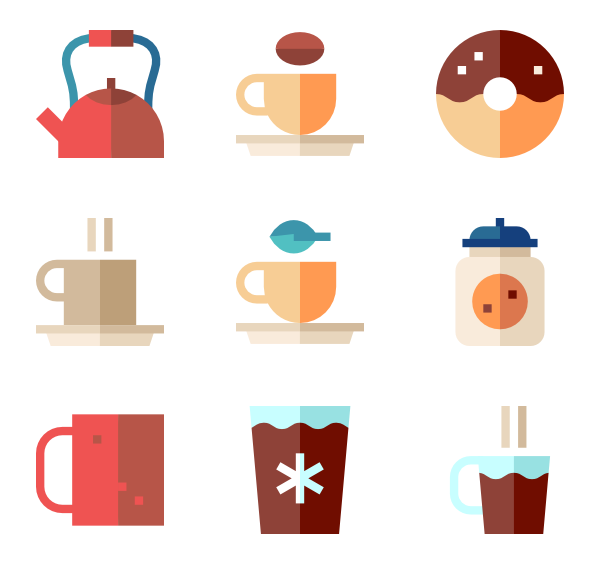 Coffee cup Icons.