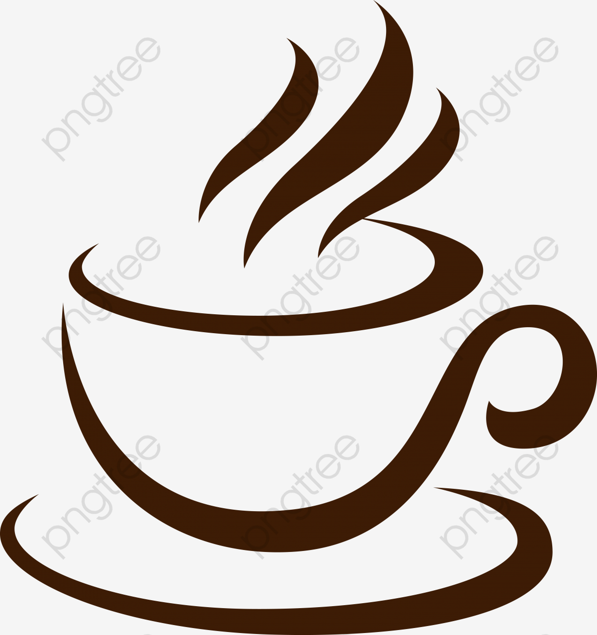 Hot Coffee Vector Diagram, Coffee Aroma, Lovely, Drinks PNG and.